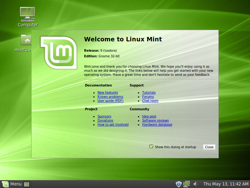 http://www.linuxmint.com/img/screenshots/isadora/welcome.png