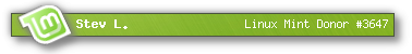 linux mint donor