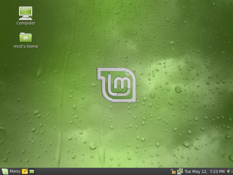 LinuxMint 7 Gloria Screenshot