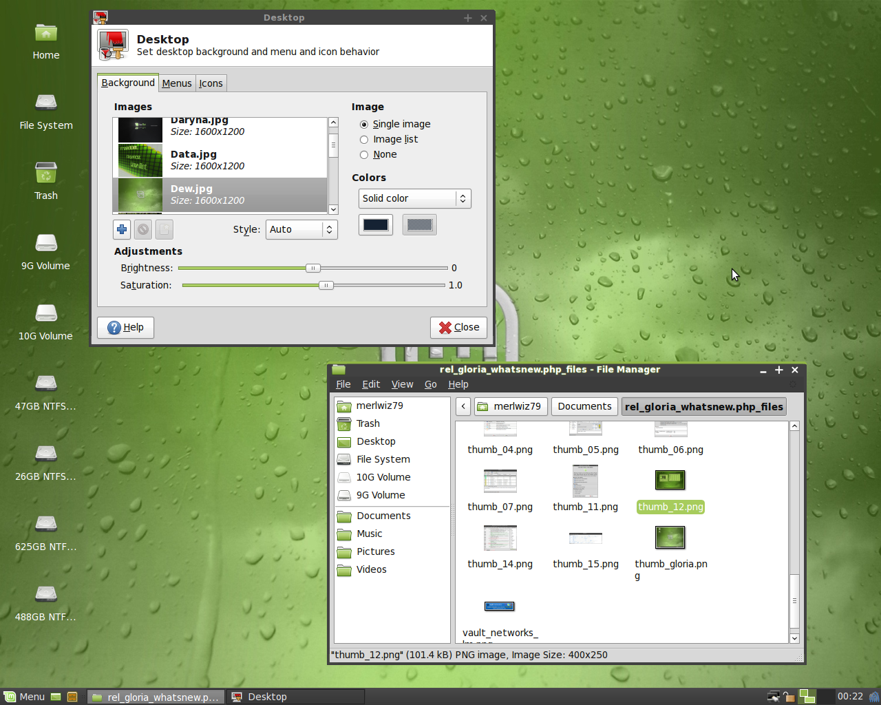 What's new in Linux Mint 7 Gloria XFCE - Linux Mint