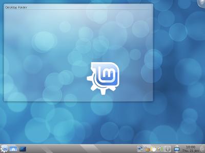 Linux Mint 8 - Внешний вид