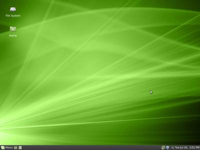 Kevyt Linux Mint 9 Isadors XFCE on mainio vaihtoehto vähän vanhemmille tietokoneille, missä työmuisti RAM on 256 – 512 Mt välillä.