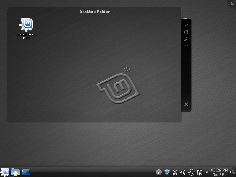 Linux Mint Julia KDE