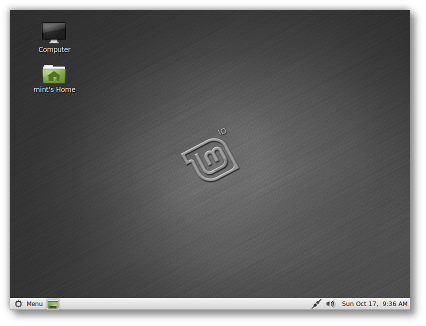 Linux Mint 10 Julia Gnome