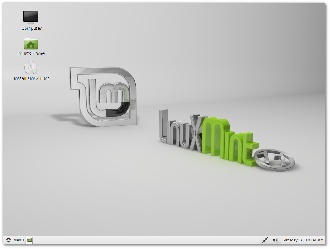 "Linux Mint 11 ""Katia"" RC"