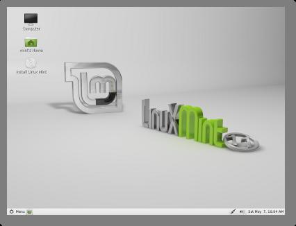 el escritorio de linux mint 11 TAGS:
