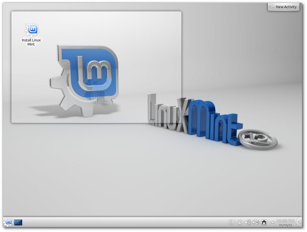 Download Linux Mint 12 KDE