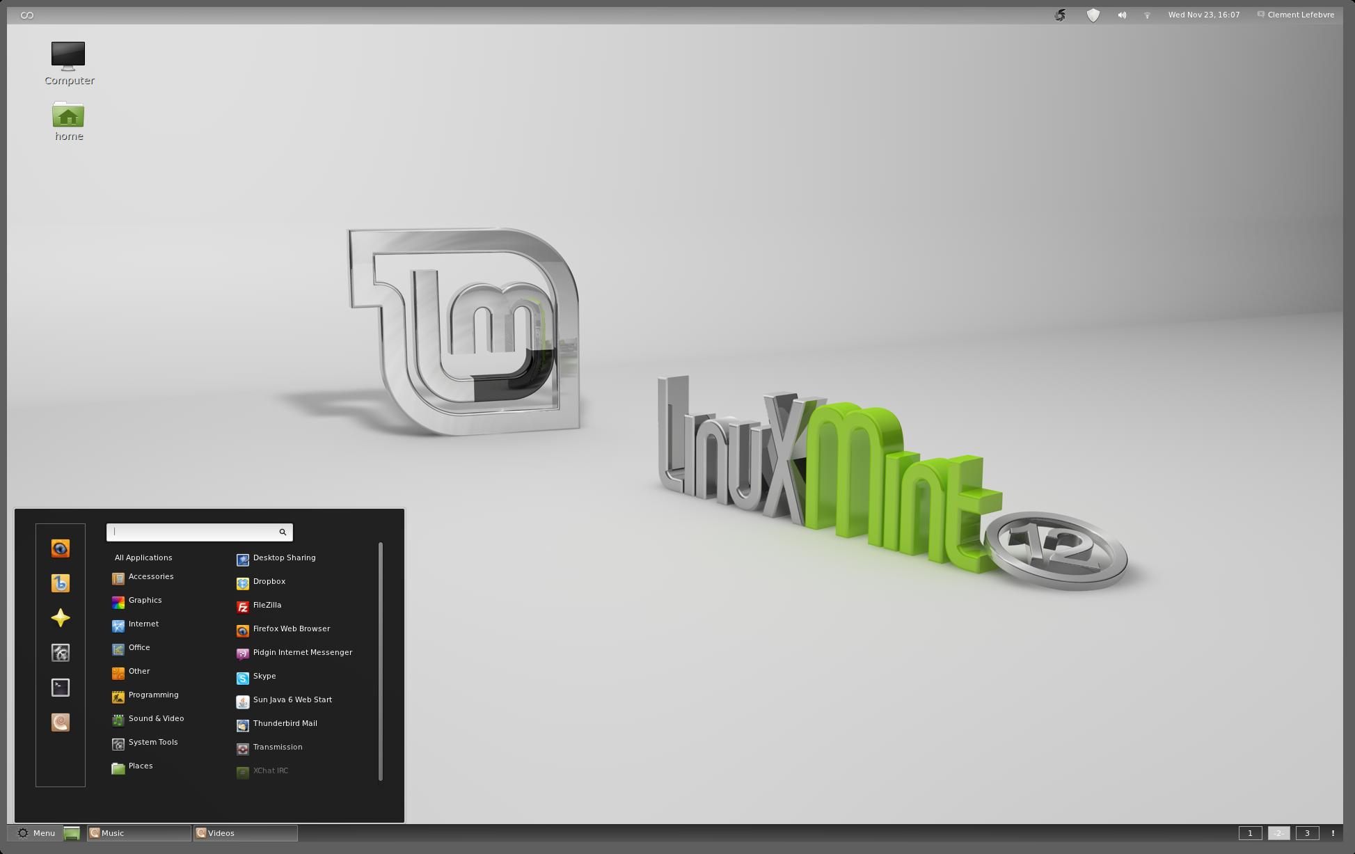 LinuxMint-12 -Lisa una joya!-Guía de post-instalación.Revi
