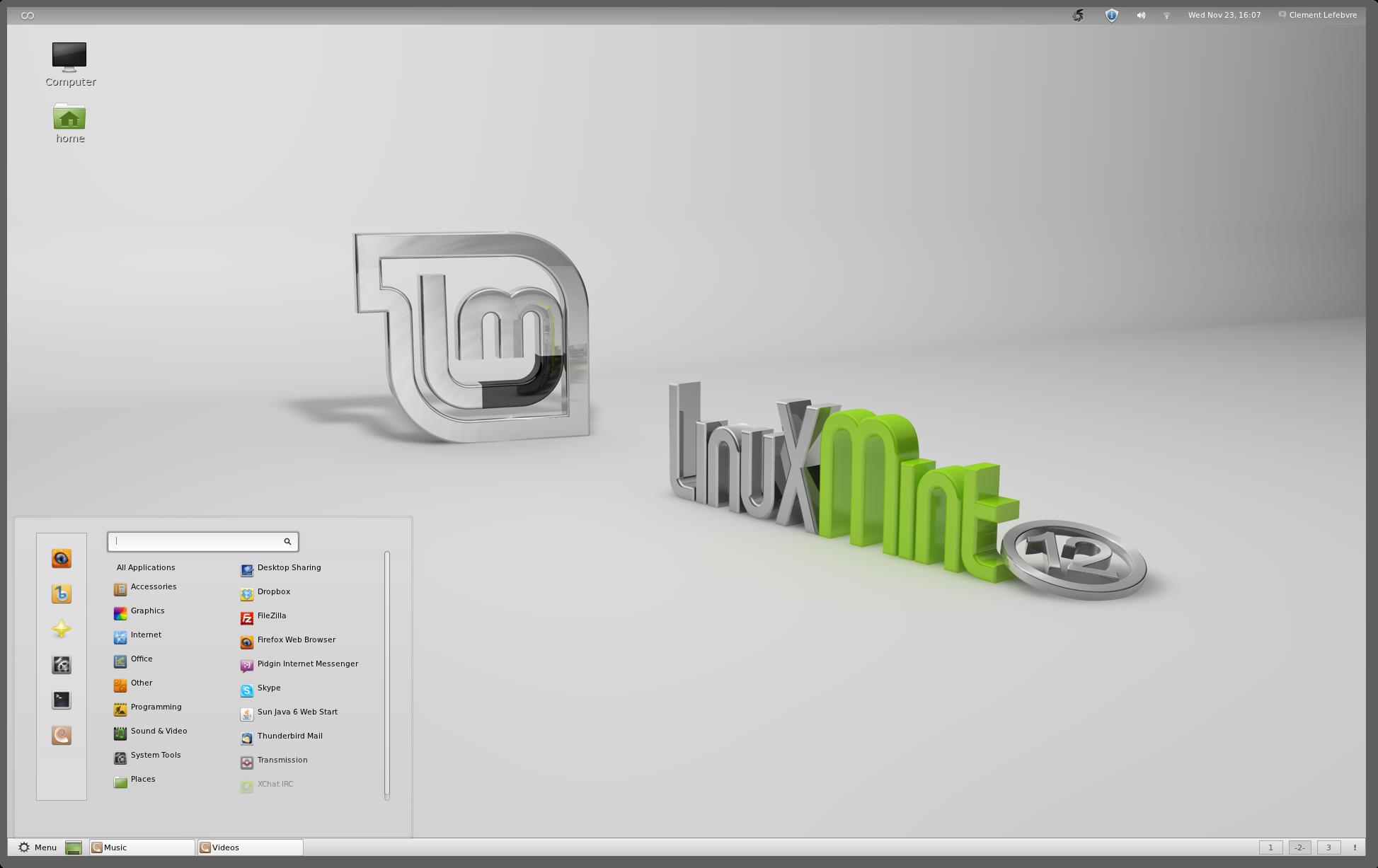 Linux Mint 12 Release Notes - Linux Mint