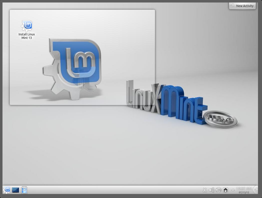 "Linux Mint 13 ""Maya"" KDE RC released! – The Linux Mint Blog"