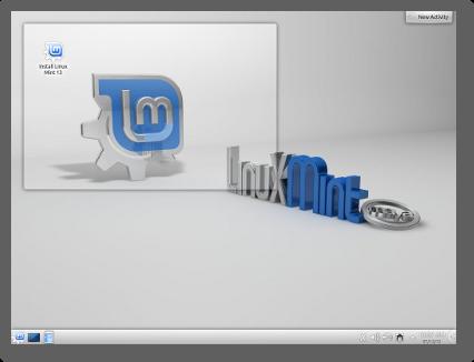 "Linux Mint 13 ""Maya"" KDE"