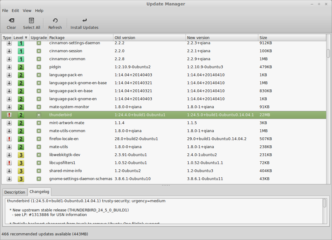New features in Linux Mint 17 Cinnamon - Linux Mint
