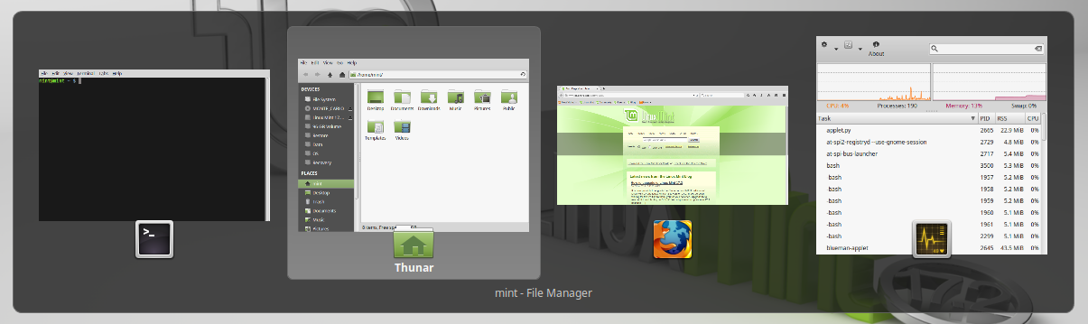 New features in Linux Mint 17 2 Xfce - Linux Mint