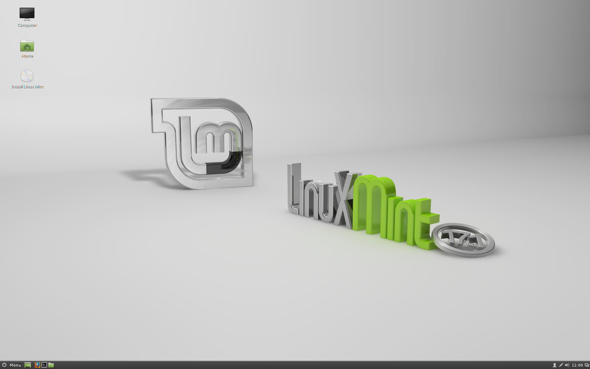 Tämä on Linux Mint 17.1 Cinnamon, koodinimi Rebecca