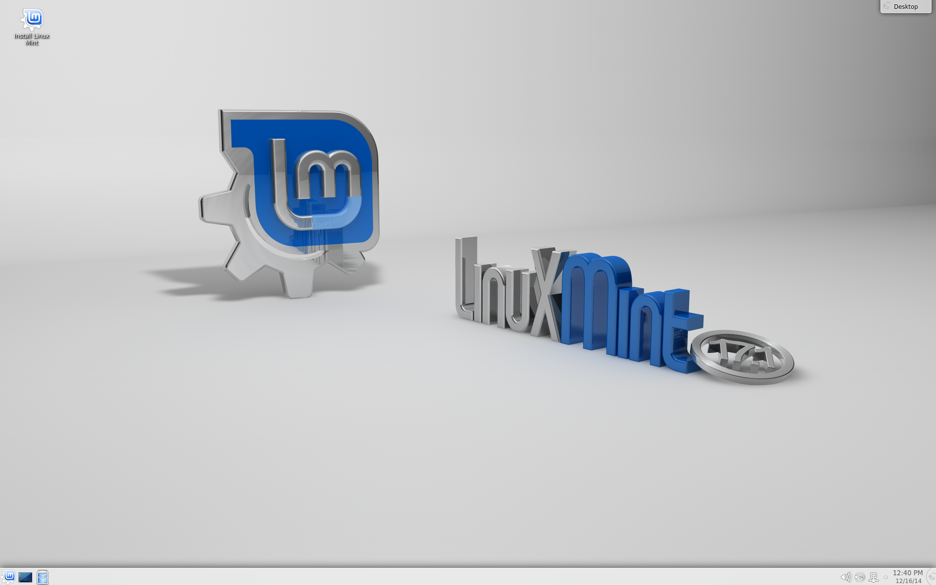 how to install linux mint 17.1 on a bootable usb