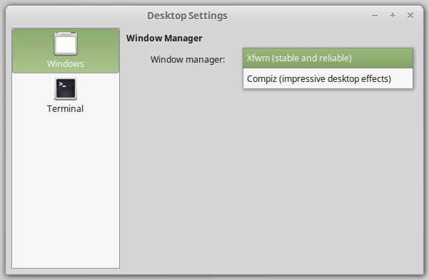 New features in Linux Mint 17 1 Xfce - Linux Mint