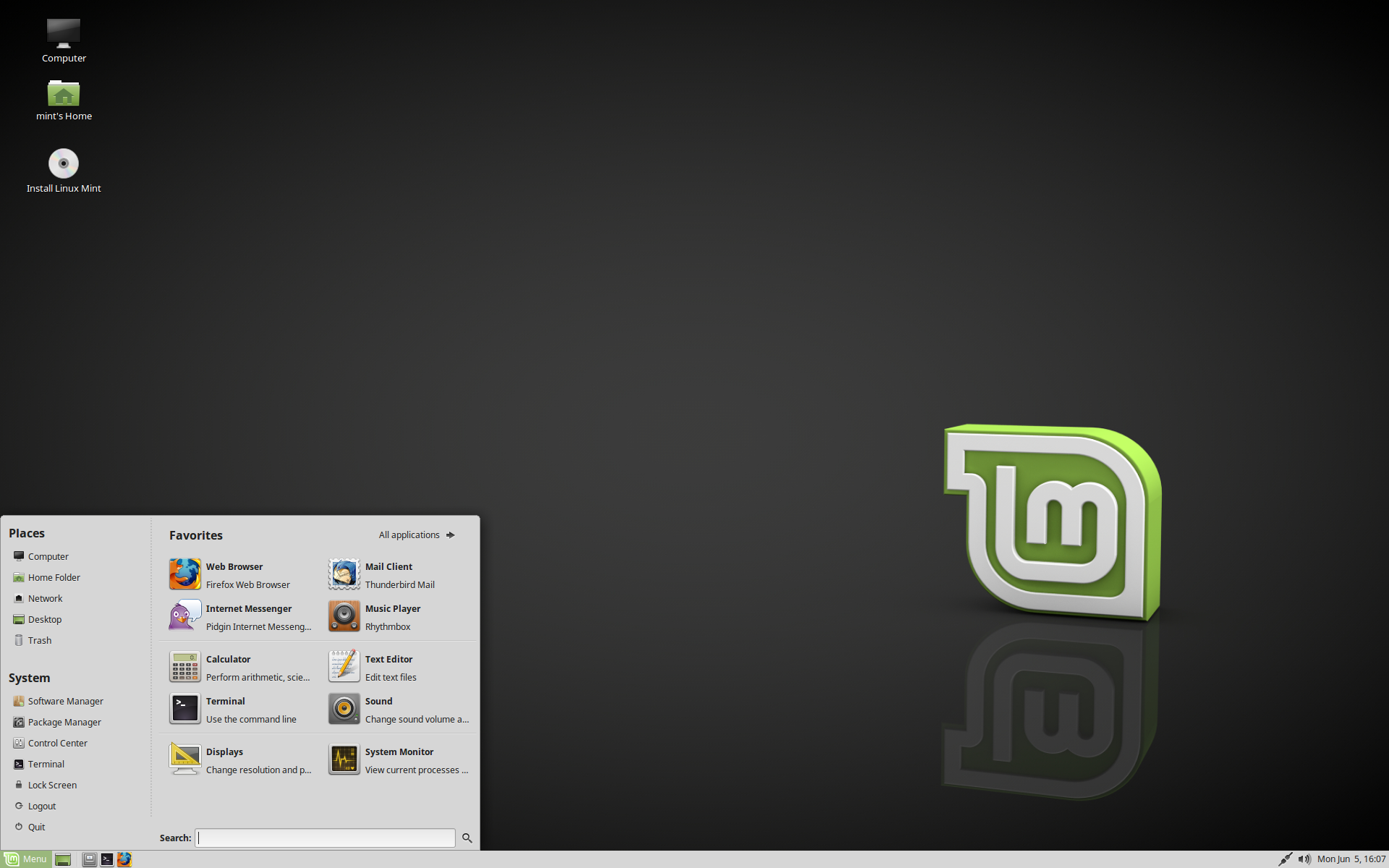 "Linux Mint 18 2 ""Sonya"" MATE – BETA Release – The Linux Mint"