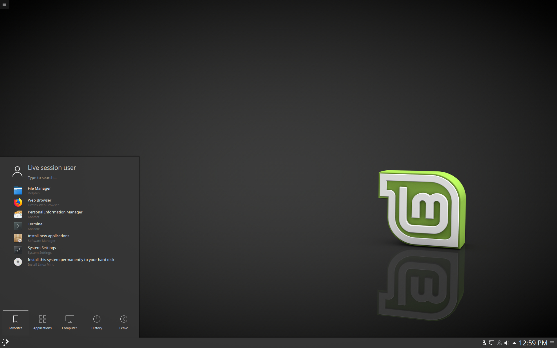 New features in Linux Mint 18 3 KDE - Linux Mint