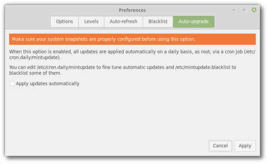 New features in Linux Mint 19 Xfce - Linux Mint