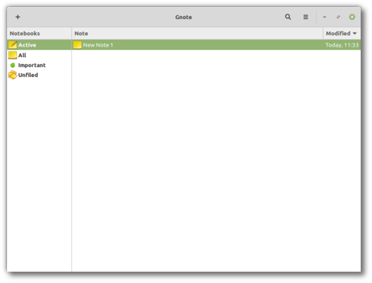 Gnote will debut in this version of Linux Mint