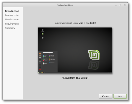 linux mint 18.3 beta iso