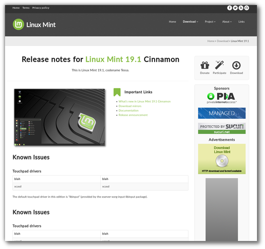Monthly News – February 2019 – The Linux Mint Blog